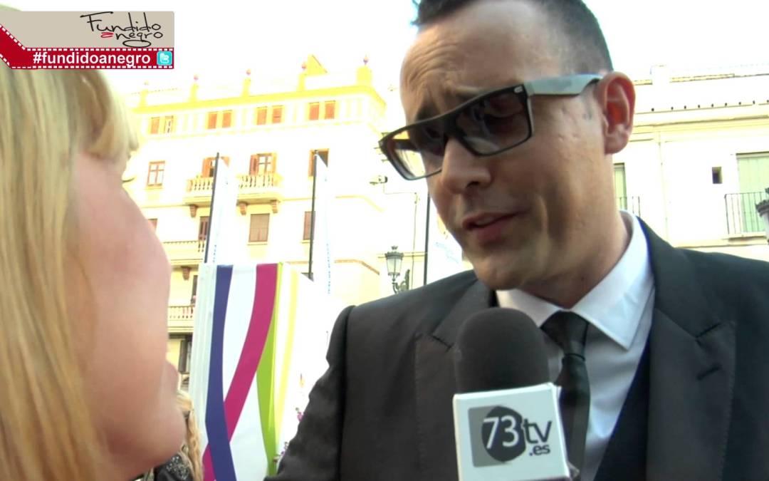 Risto Mejide en la alfombra roja del 18 Festival de Cine de Málaga