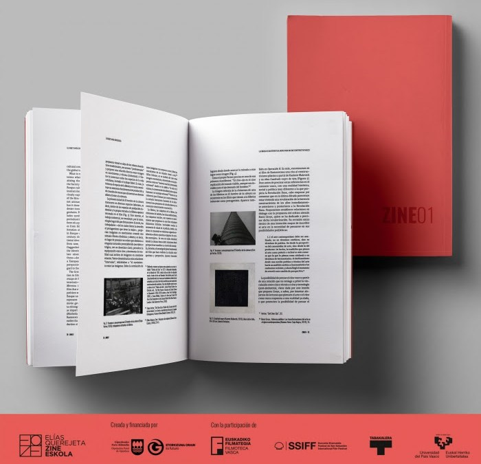 Elías Querejeta Zine Eskola, Filmoteca Vasca y el Festival de San Sebastián publican el primer número de 'ZINE: cuadernos de investigación cinematográfica'