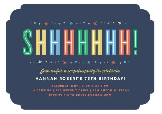 Surprise Birthday Invite Wording Choice Image Invitation Design – 75 Birthday Invitation Wording