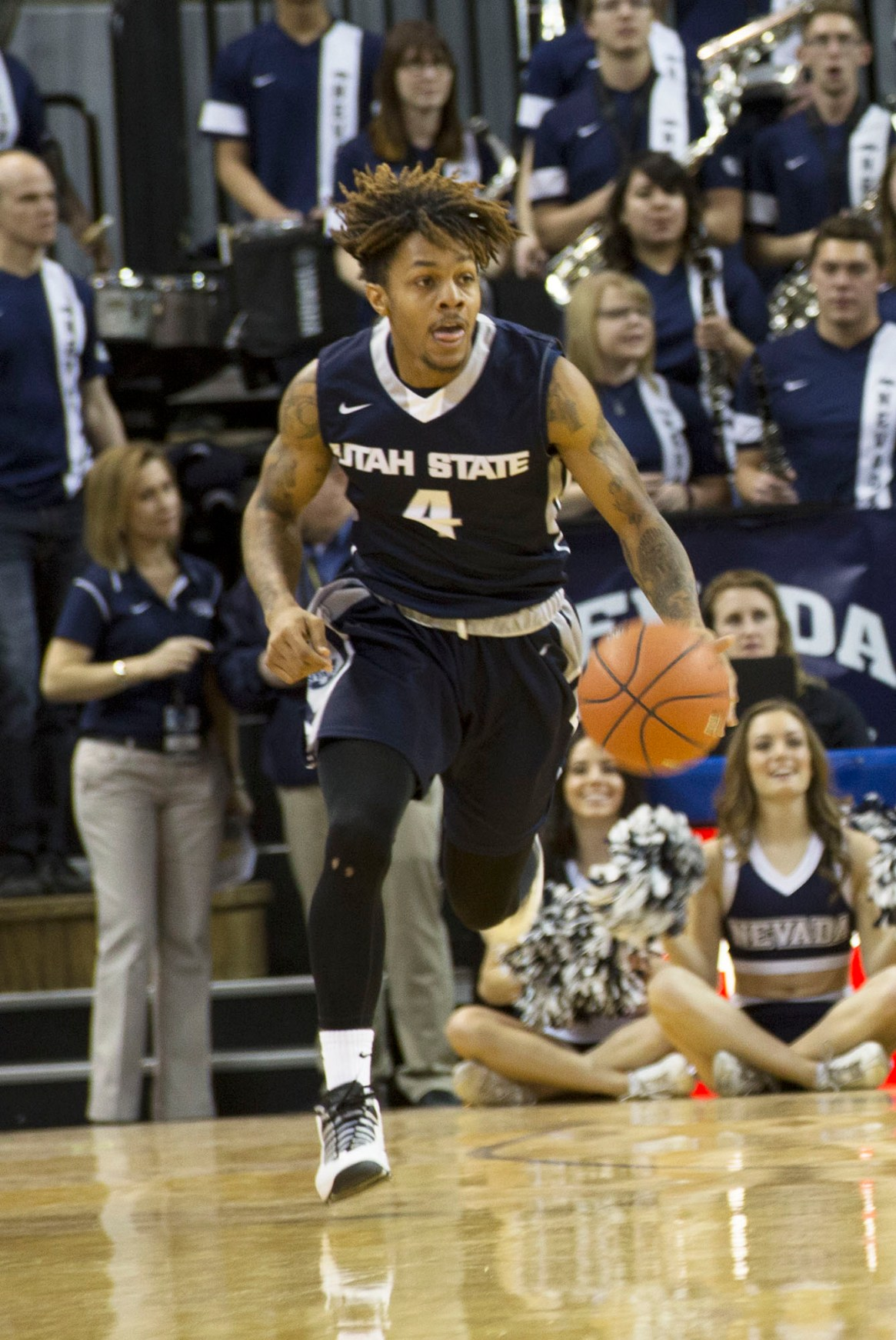 Shane Rector, Junior, played an excellent game againt The Universty of Nevada Reno.