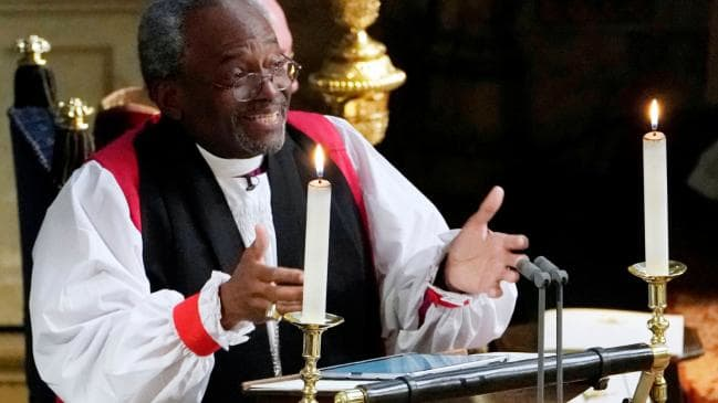 Rev Bishop Curry