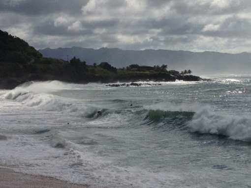 Waimea Bay Beach.