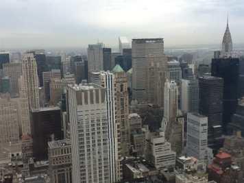 Vista do Empire State, NYC.