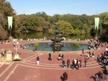 Uma da partes mais bonitas do Central Park, NYC.