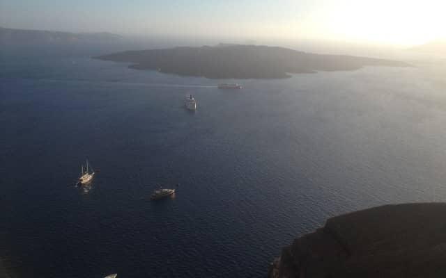Vista de la Caldera, Firostefani, Santorini.
