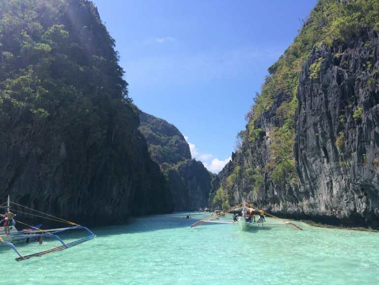 Sailing into the Big Lagoon, El Nido things to do in Palawan