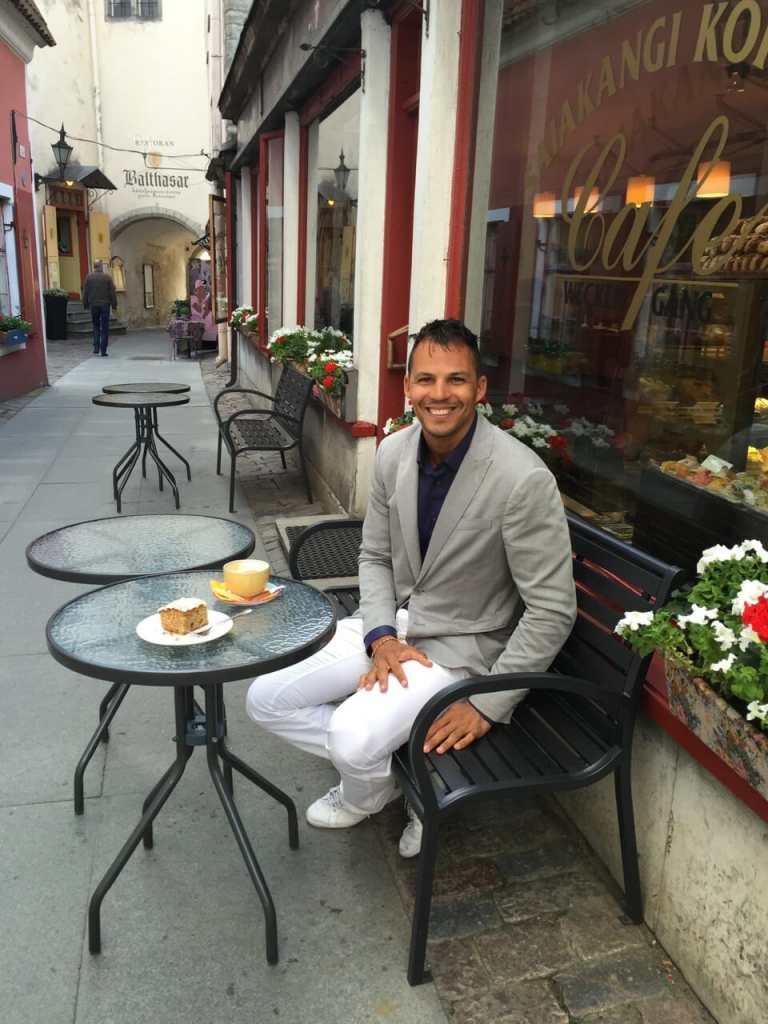 Coffee place in old town, Tallinn