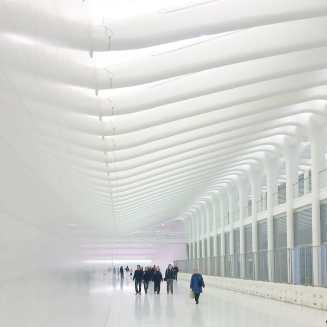 Passarela subterrânea no WTC, NYC.
