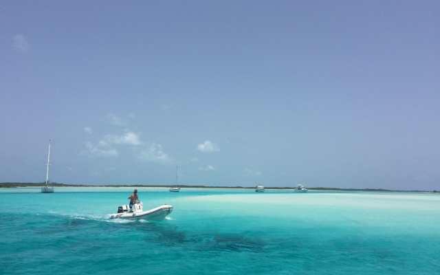 Una de las playas más bonitas de Bahamas, Pipe Creek, Exuma.