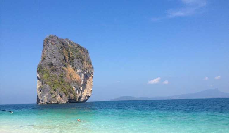 A surreal Ilha Poda, Tailândia.