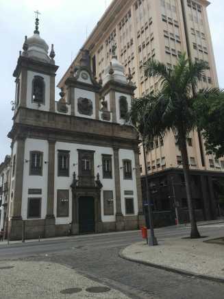 São José Church, downtown Rio.