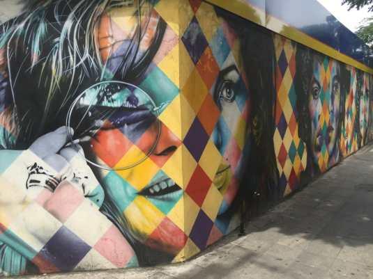 grafites em São Paulo