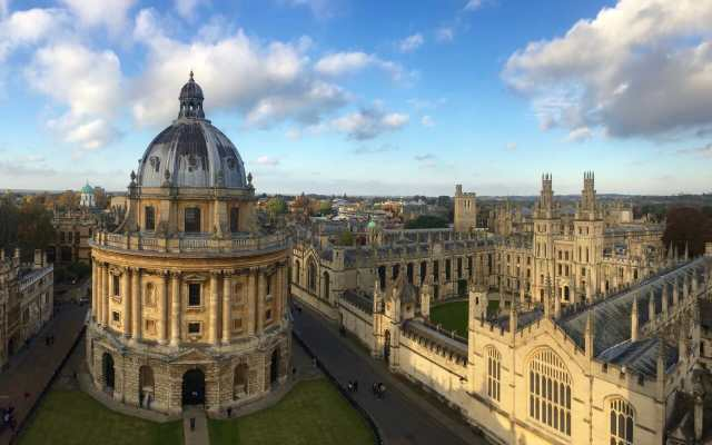 La bella Oxford.