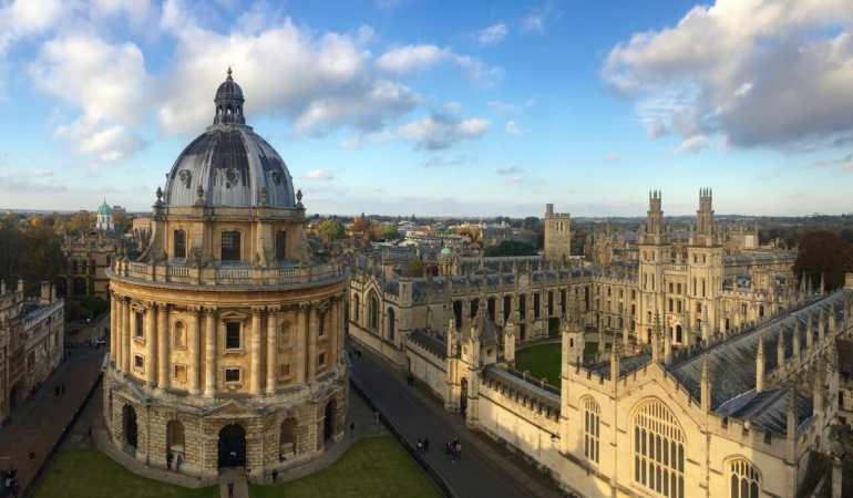 A bela Oxford.