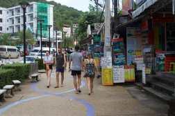 Aonang's main avenue