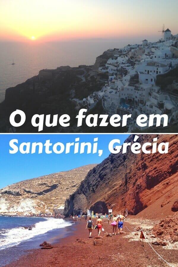O que fazer em Santorini, Grécia