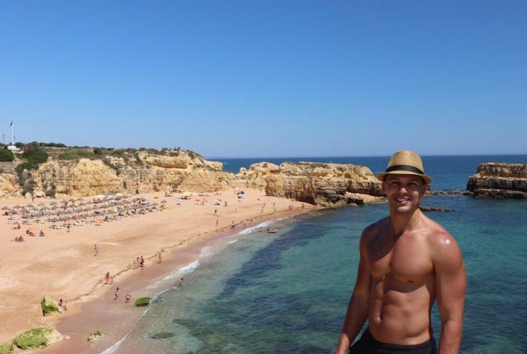 beaches in Albufeira