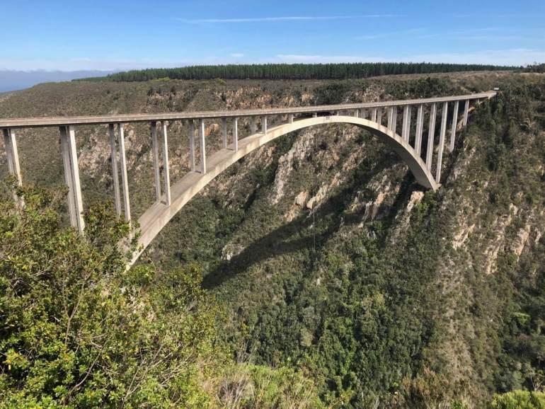 Bloukrans bridge bungee jump