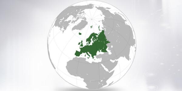 Big size Europe Map