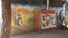Bellavista mural, Santiago showing Valparaiso hasnt monopoly on murals!