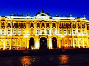 Winter Palace after dark