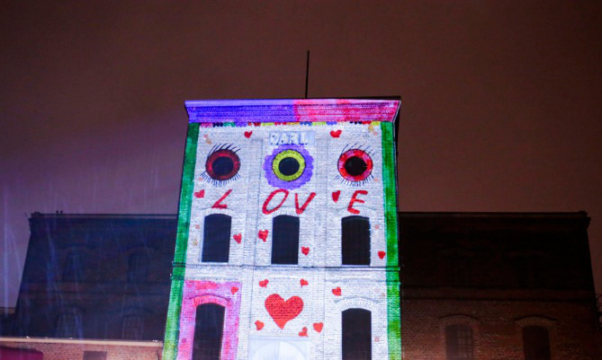 Workshop Projection Mapping für Kinder - Carls zweites Gesicht