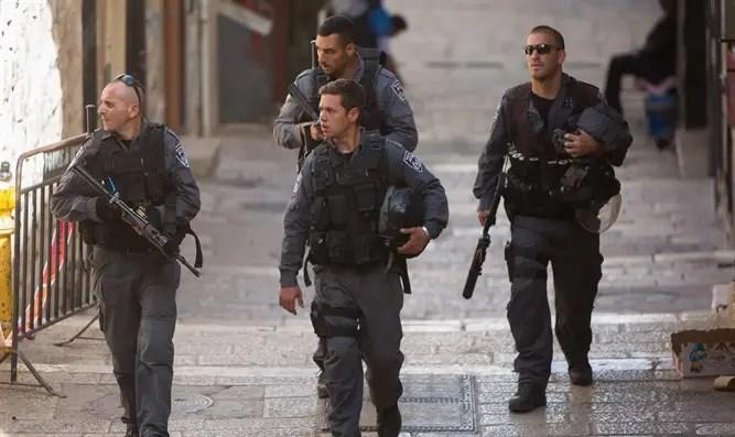 Бойцы МАГАВ в Иерусалиме