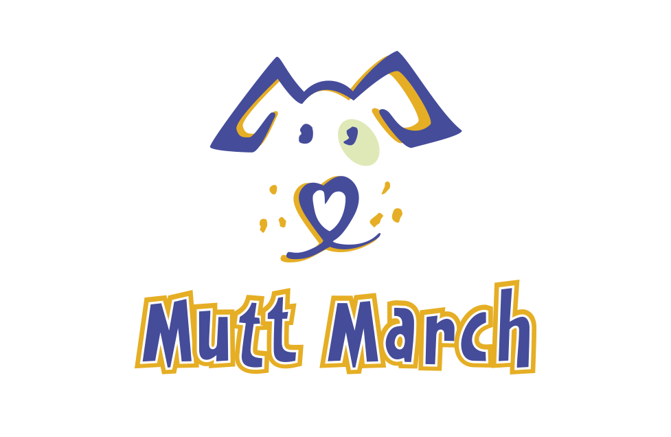 Mutt March Identity by Dara Chilton with 7 Lucky Dogs Creative