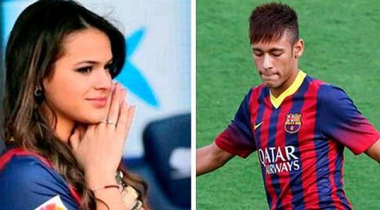 Romantic troubles for Neymar