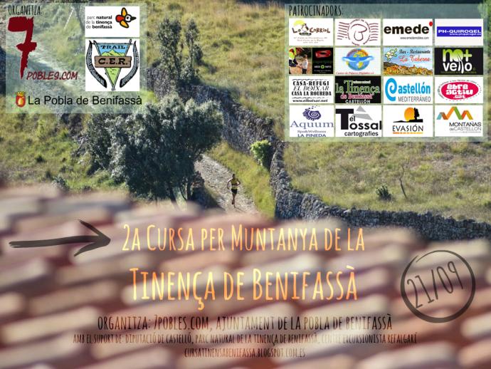 cartell cursa tinença 2014 PATROCINADORS