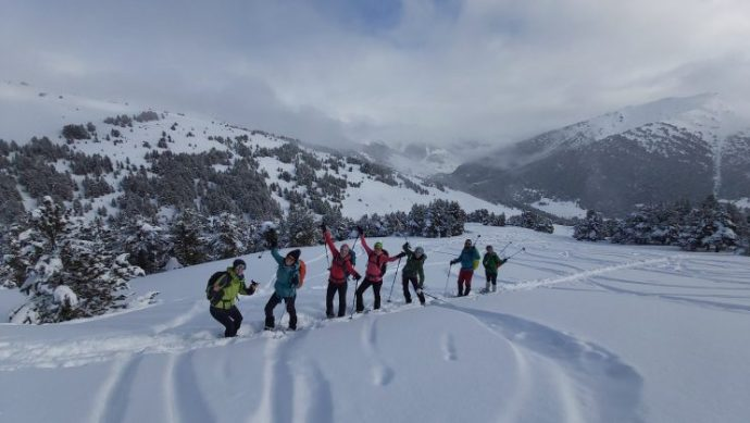 raquetes de neu vall d'aran