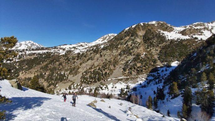 raquetes de neu andorra, parc natural sorteny