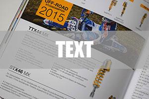7Punkt8 Media sorgt für den richtigen Text - egal ob Anleitungen, Broschüren, Flyer oder Kataloge.