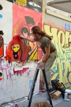Miguel Guerra: Graffiti Block Party