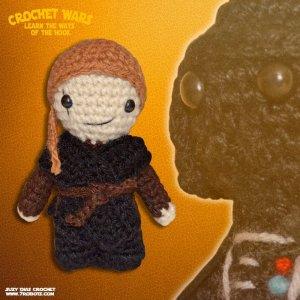 Crochet Star Wars Amigurumi Anakin by Suzy Dias