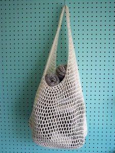 Crochet Farmer's Market Bag by Haley Waxberg
