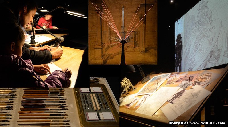 Museum des Arts et Metiers: Machines Dessiner 2016