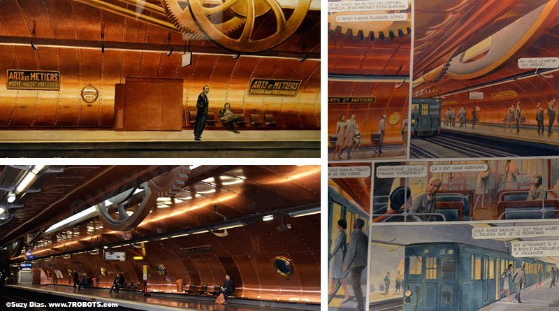 Arts and Metiers Paris Metro