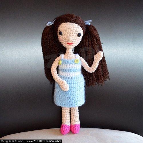 Crochet Doll - Rosie by Suzy Dias Crochet