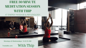 free 30 min yoga with thip