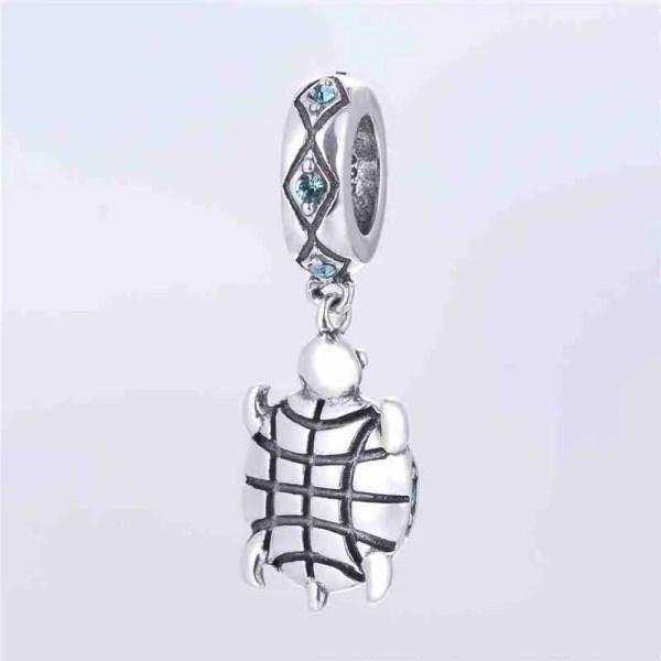 Sparkling Turtle Charm - 7SEASJewelry