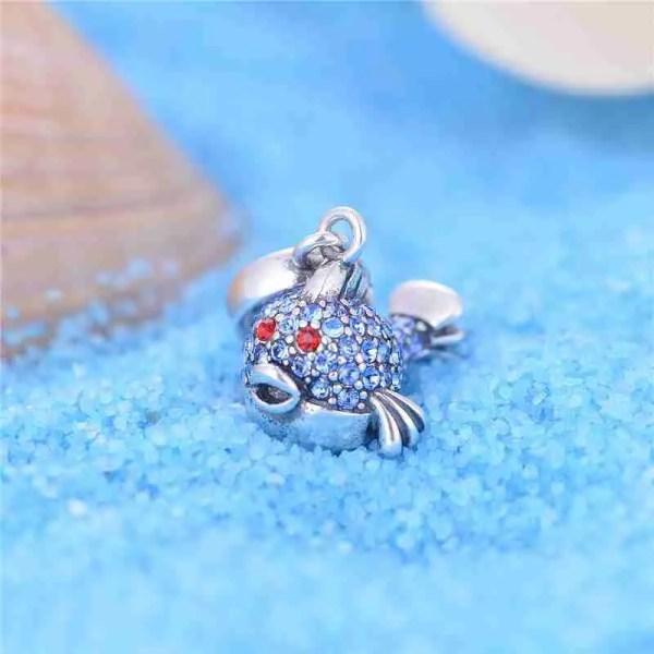 Puffer Fish Charm - 7SEASJewelry
