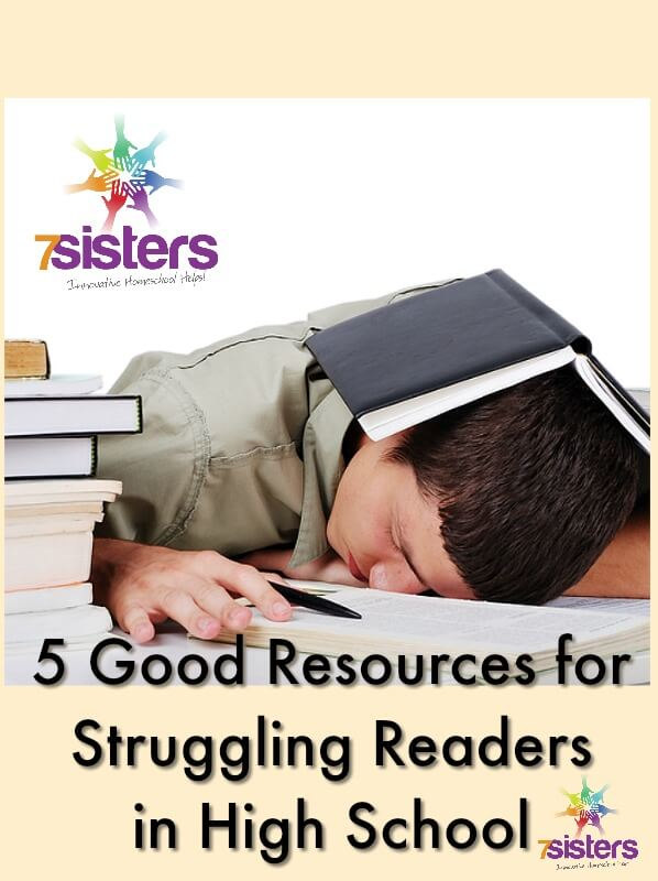 5 Good Resources for Struggling Readers in High School