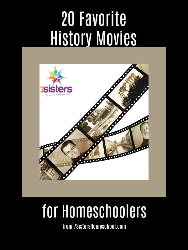 20 Favorite History Movies for Homeschoolers