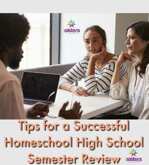 Tips for a Successful Homeschool High School Semester Review