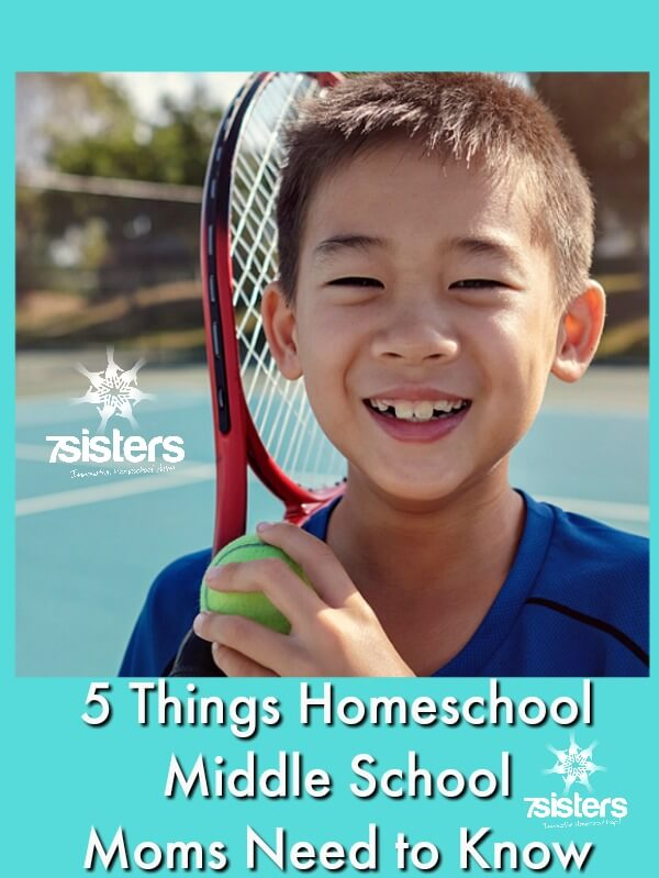 5 Things Homeschool Middle School Moms Need to Know