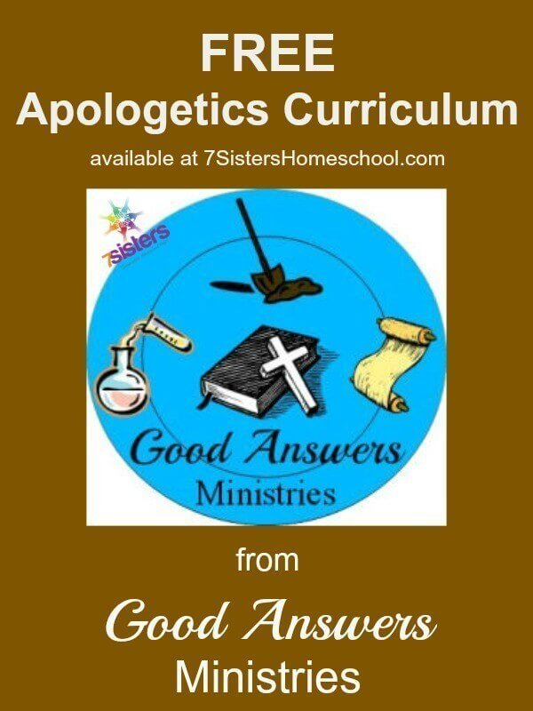 FREE Apologetics Curriculum from Good Answers Ministries