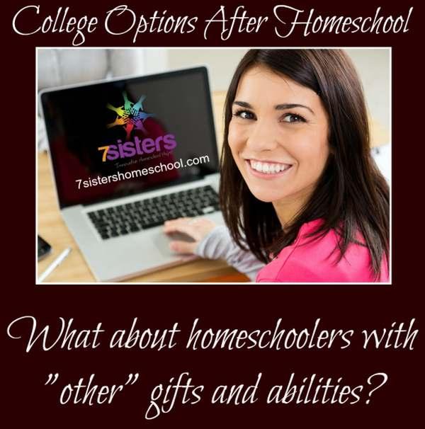 College Options After Homeschool