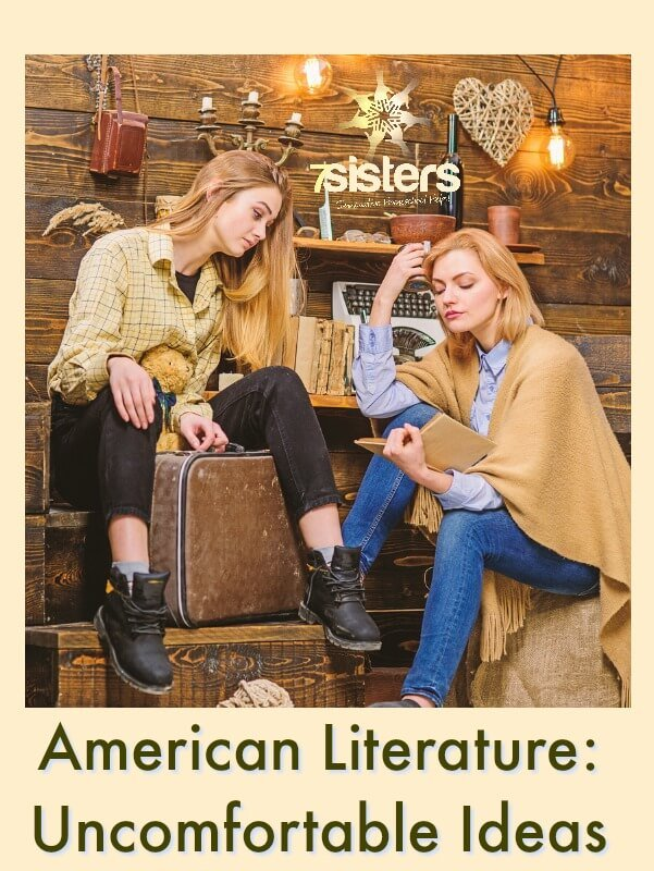 High School American Literature: Uncomfortable Ideas. How to deal with tough topics or depressing stories in American Literature class.