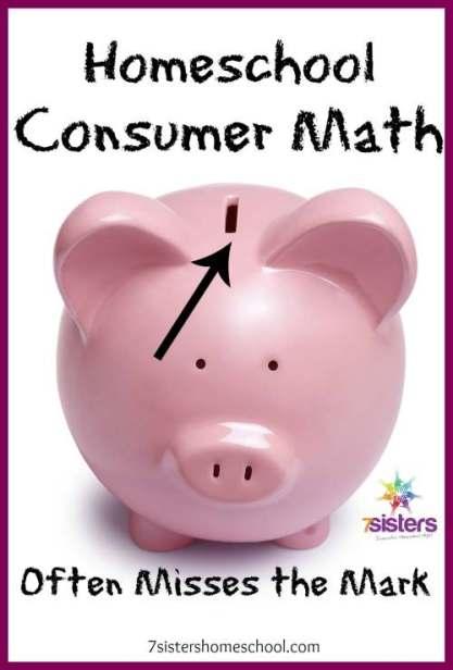 homeschool consumer math